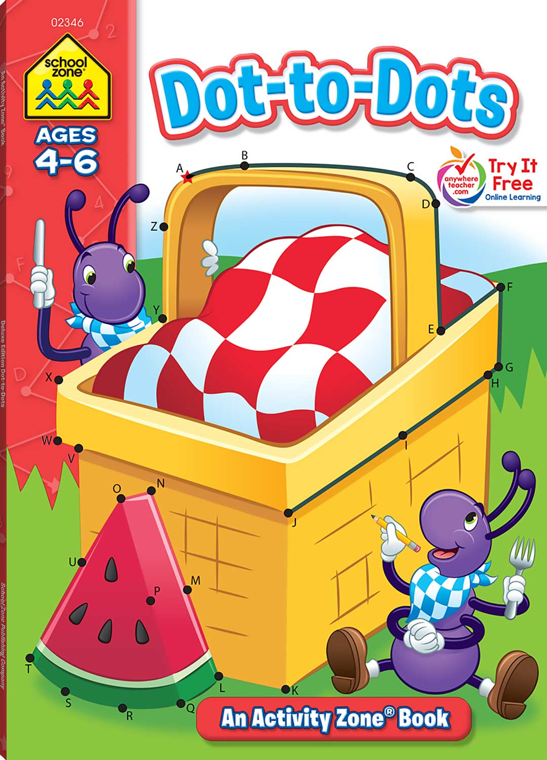 Dot-to-Dots Deluxe Edition Activity Zone Workbook - Fun Stuff Toys