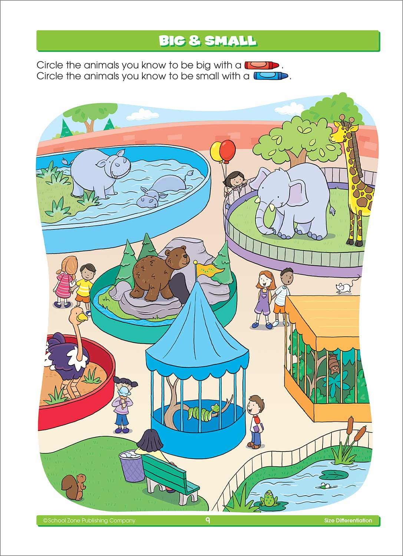 Super Deluxe Kindergarten Basics Workbook - Fun Stuff Toys