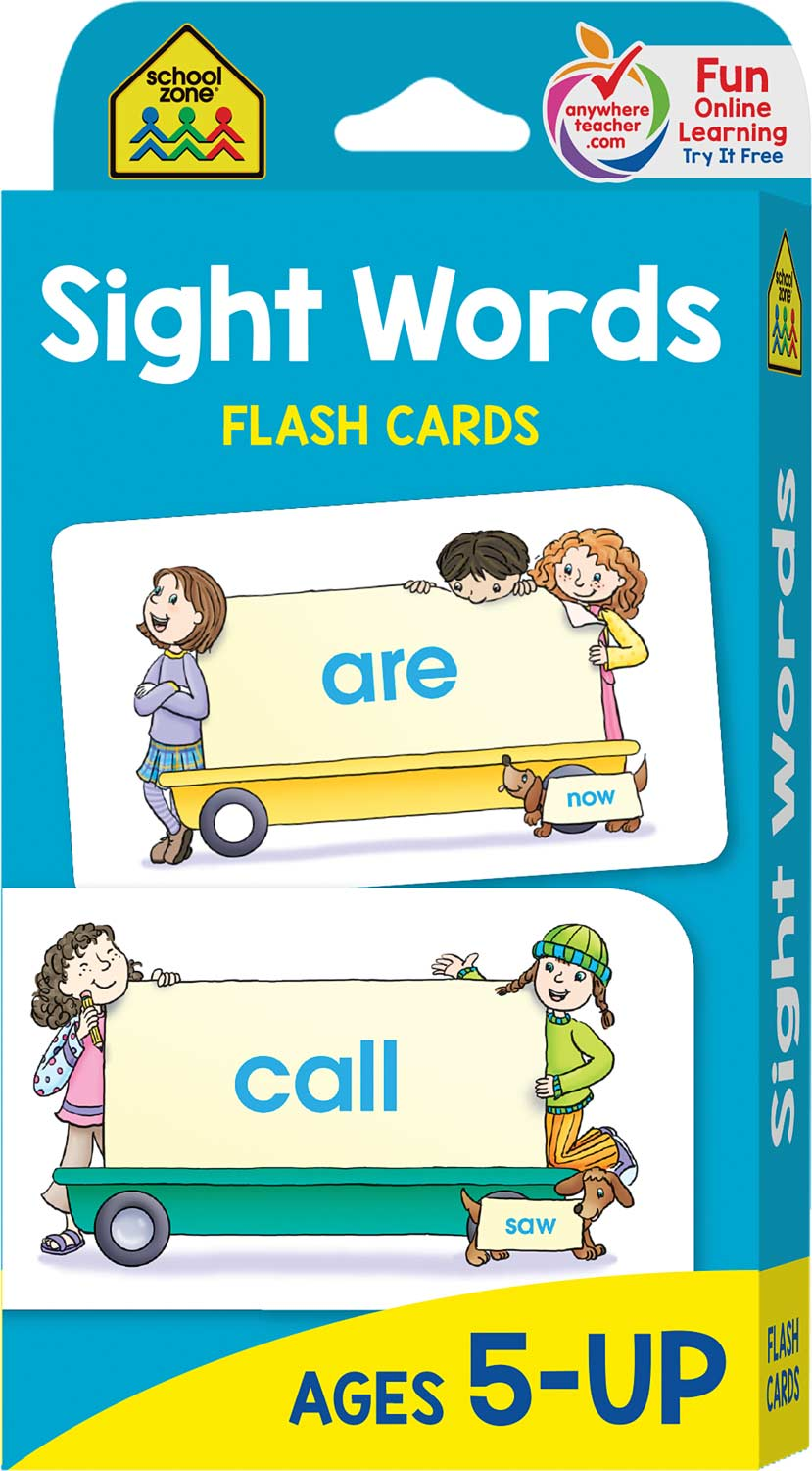 sight words for second grade flash cards
