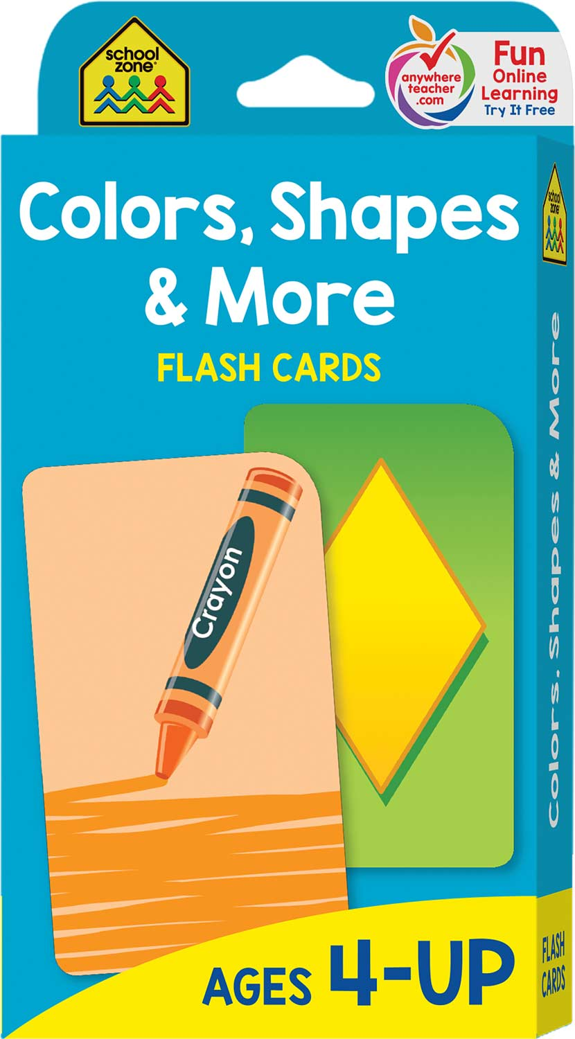 P K Colors And Shapes Flash Cards Raff And Friends