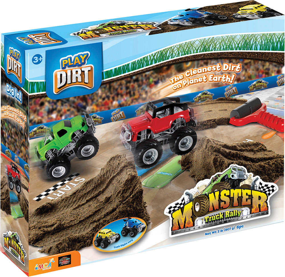Play Dirt Monster Truck Rally - Toys That Teach