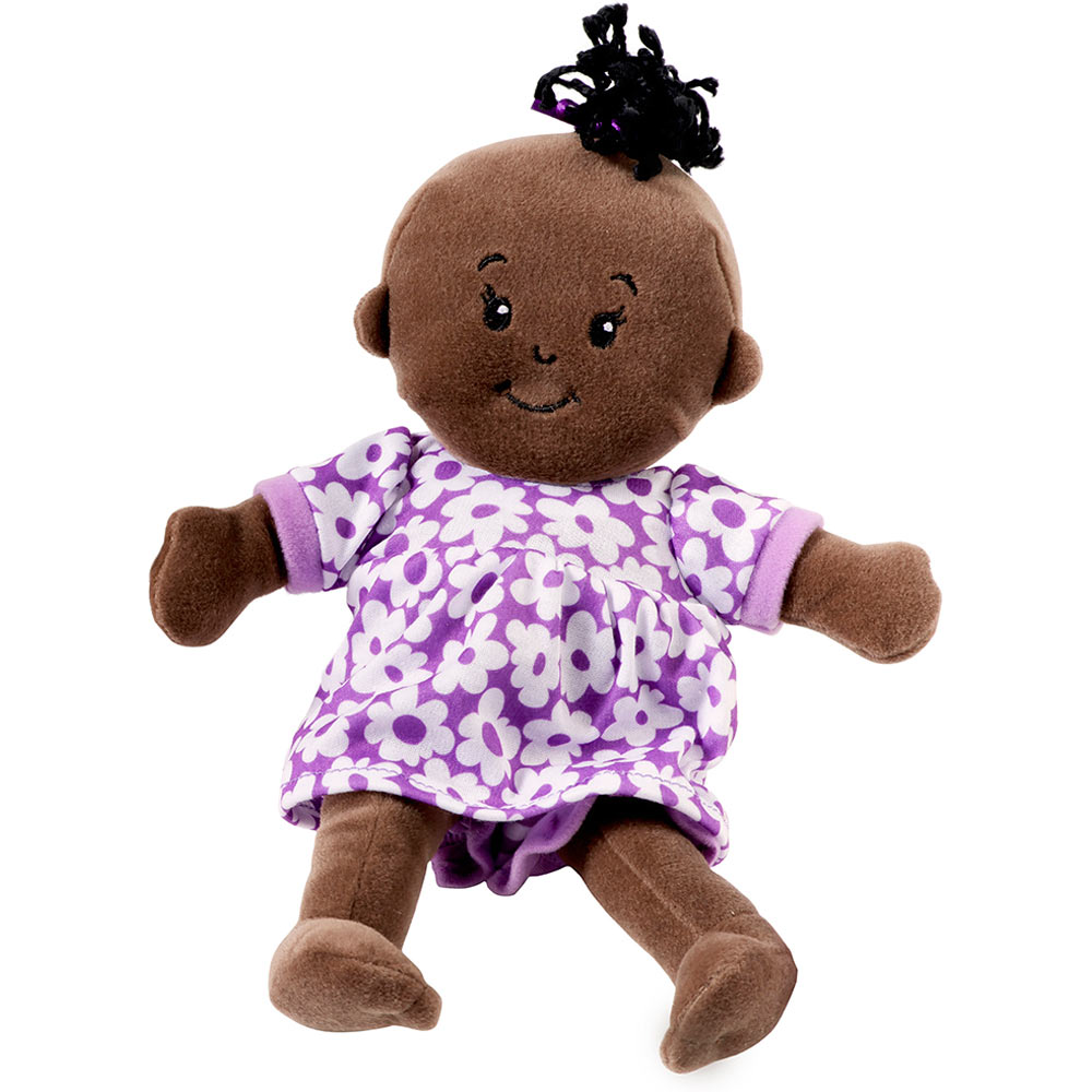 Wee Baby Stella Doll in Purple Dress toys et cetera