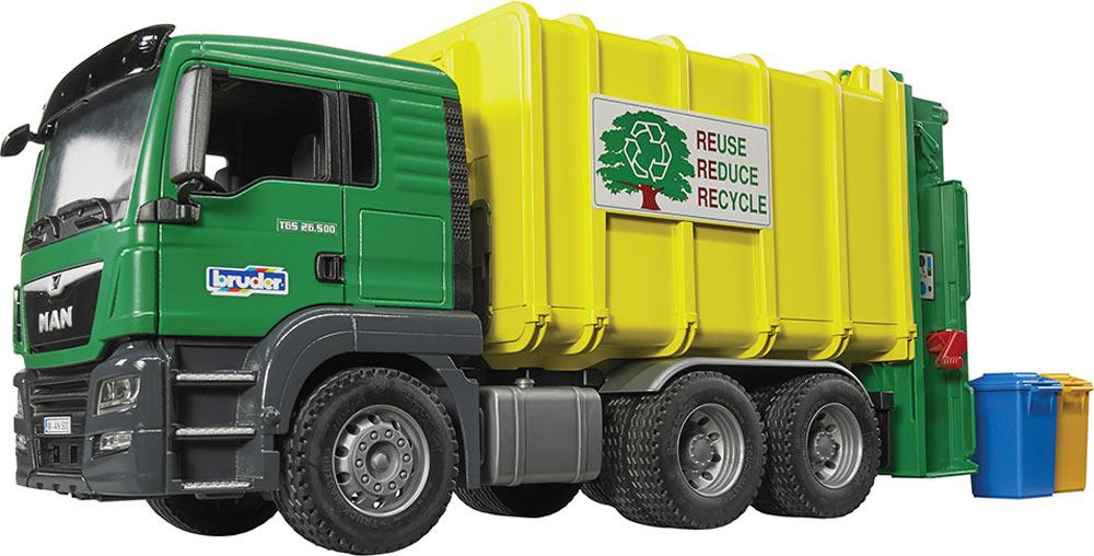 Bruder Man Garbage Truck Timbuk Toys