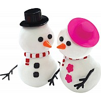 Floof Mr & Mrs Snowman