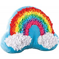 PlushCraft Rainbow Pillow
