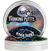 Crazy Aaron's Cosmic Star Dust Thinking Putty
