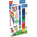 Kwik Stix Thin Stix Paint Sticks 12 ct Classics