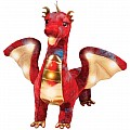 Douglas Kazra Light & Sound Dragon - Red