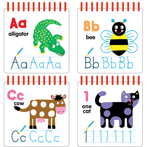 Write and Wipe ABC 123 by Scholastic (Hardback, 2015)