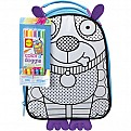 Color a Doggie Lunch Bag