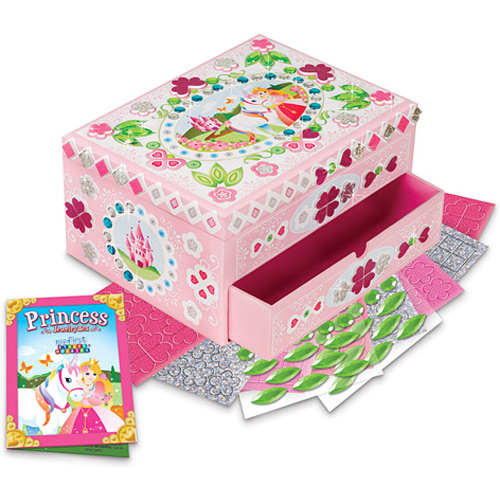 My First Sticky Mosaic Princess Jewelry Box The Learning Tree