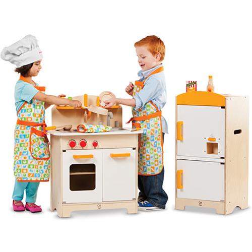 Dream Kitchen Toy Refrigerator: Gourmet Fridge By Hape