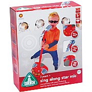 Sing-A-long Star Mic Red