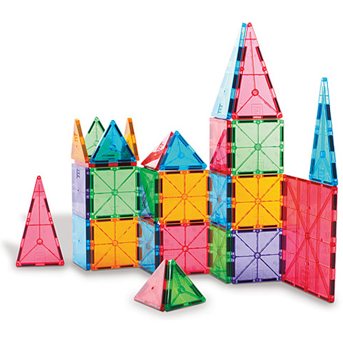 magna tiles clear colors 100pc over the rainbow