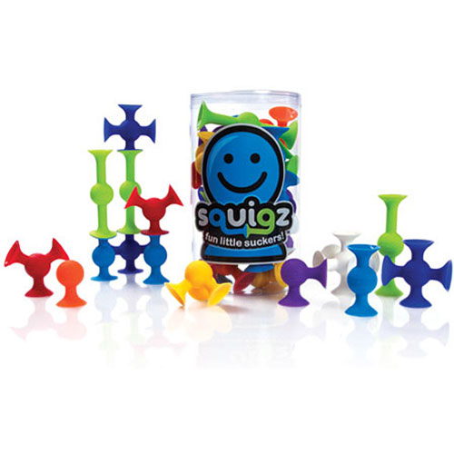 Toys For Fat : Fat brain toy co squigz starter set by