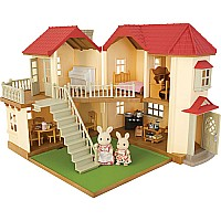 Calico Critters Cloverleaf Townhome Gift Set
