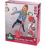 Sing Along Star Microphone Pink