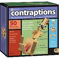 KEVA Contraptions: 50 Piece Set