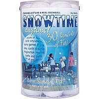 Snowtime Anytime! Snowballs 30 Pack