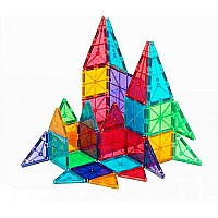 Magna-Tiles™ Clear Colors 32 pc