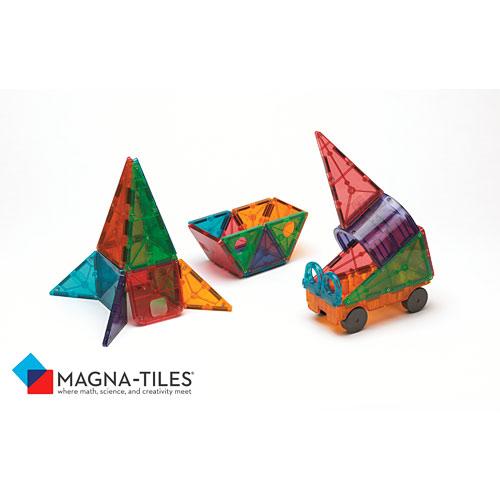 Magnatiles Clear Colors 48 Piece Dx Set Valtech