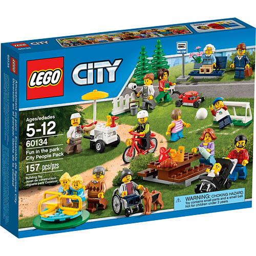 Lego City Fun In The Park City People Pack Imagine That Toys
