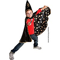 Great Pretenders Reversible Wizard Cape with Hat