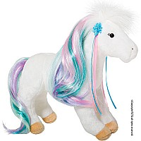 Douglas Rainbow Princess White Horse