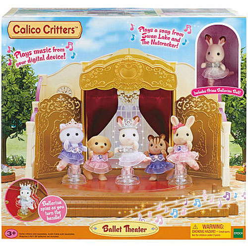 Calico Critters Ballet Theater Timbuk Toys