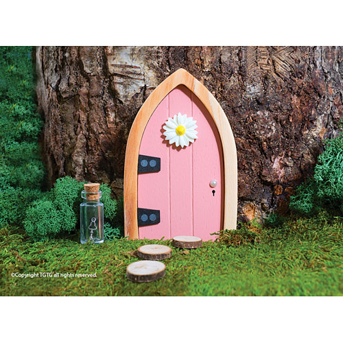 The irish fairy door includes a free gift with purchase for The little fairy door company