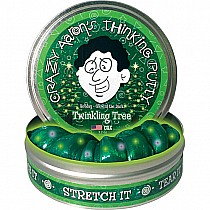 Crazy Aaron's Twinkling Tree Thinking Putty