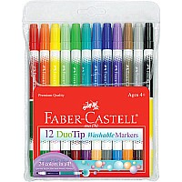 DuoTip Washable Markers