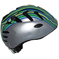 RUNT Silver Child's Helmet