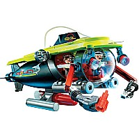 Deep Sea Submarine w Underwater Motor