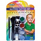 Glitter Tattoo Kit The Wild