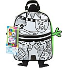 Color A Backpack- Pirate