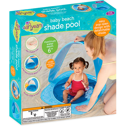 Baby Beach Shade Pool By International Playthings On Barstons Childs Play