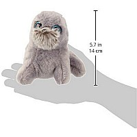 Ty Wiggy Sea Lion Plush, Grey, Regular