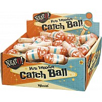 Mini Wood Catch Ball