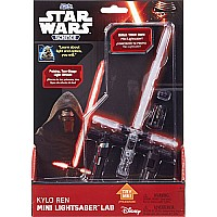 Kylo Ren Mini Lightsaber Lab