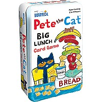 Pete the Cat Big Lunch Card Game Tin