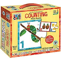 Eric Carle Very Hungry Caterpillar Counting Floor Puzzle