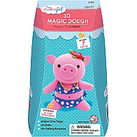 3d Magic Dough Piggy