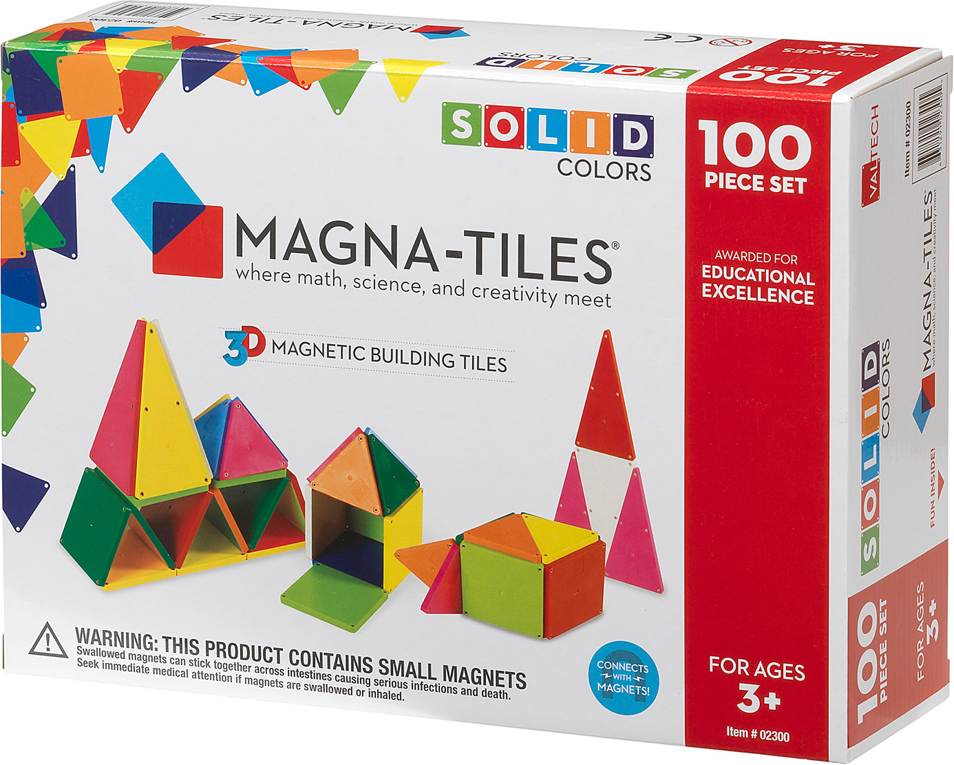 magna tiles solid colors 100 piece set raff and friends