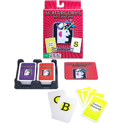 scattergories game how to play