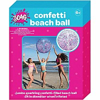 Confetti Beach Ball