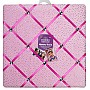 3C4G Sparkle Velour Photo Memory Board, Pink