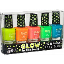Glow In The Dark 5 Pk Nail Polish