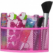 Pink Locker Storage Bin