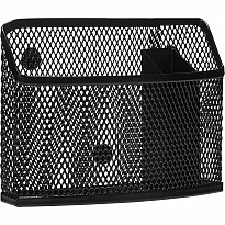 Black Locker Storage Bin